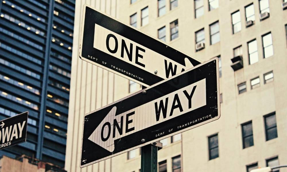 one-way-signs-career-change-definition